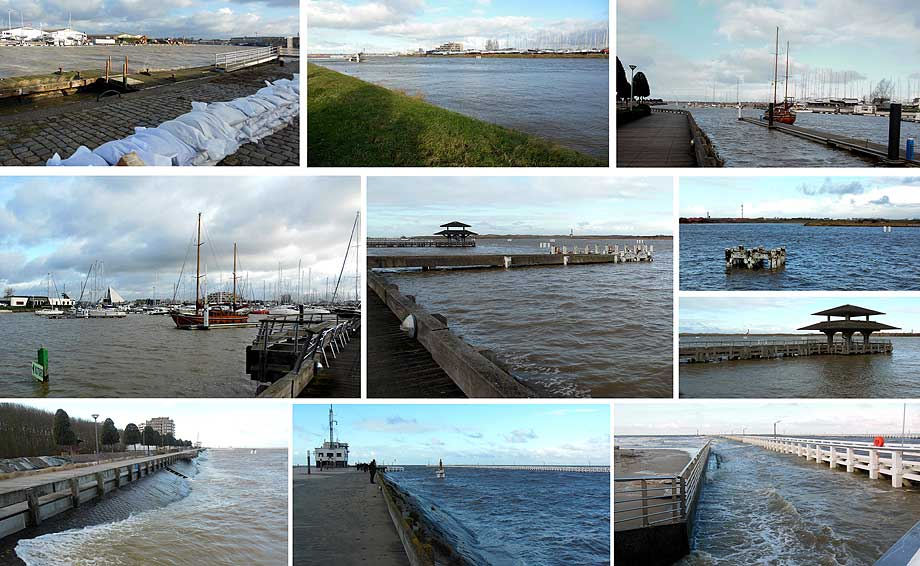 collage daags na de storm - foto's Friede Lox